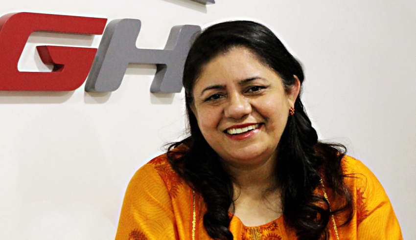 Ritu Grover is a woman entrepreneur