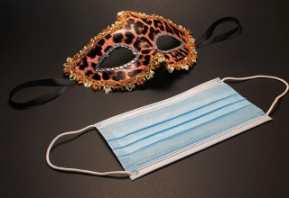 Master The Art Of Fashion This New Year With Masks On